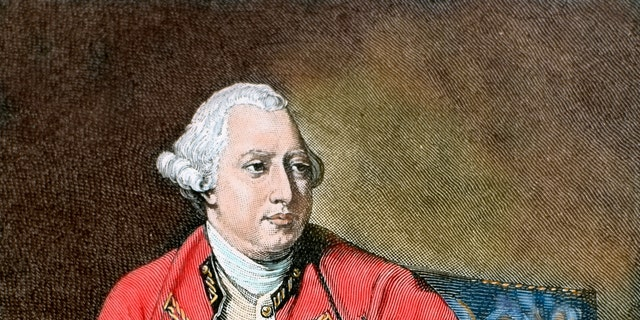 George III, colored engraving. (Photo by Prisma/UIG/Getty Images)