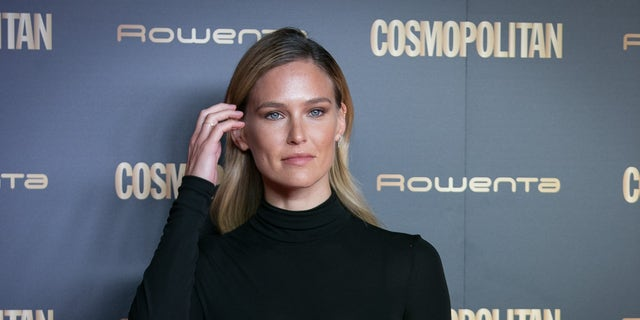 Model Bar Refaeli attends the Cosmopolitan Awards 2018 at Florida Park on Oct. 18, 2018 in Madrid, Spain.