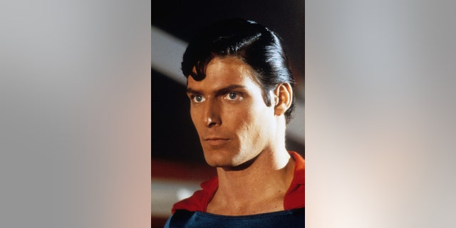 "Christopher Reeve as ""Superman."" — Getty"