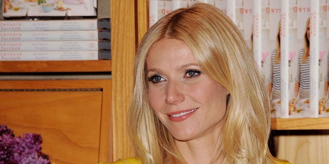 """Gwyneth Paltrow signs copies of her cookbook, """"My Father's Daughter: Delicious, Easy Recipes Celebrating Family and Togetherness,"""" in Beverly Hills, Calif on April 21, 2011."""