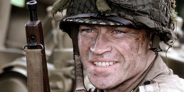 """Neal McDonough (as Lynn """"Buck"""" Compton) acts in a scene from HBO''s war mini-series """"Band Of Brothers."""" — Getty"""
