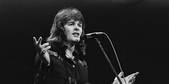 Singer Colin Blunstone performing live on stage at the Rainbow Theatre in London on 10th February 1972. — Getty