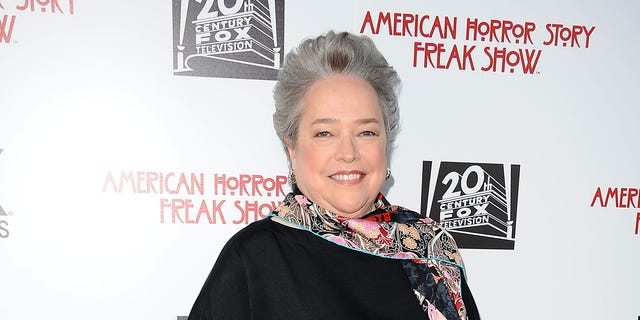 "LOS ANGELES, CA - JUNE 11: Actress Kathy Bates attends FX's ""American Horror Story: Freakshow"" FYC special screening and Q&A at Paramount Studios on June 11, 2015 in Los Angeles, California. (Photo by Jason LaVeris/FilmMagic)"