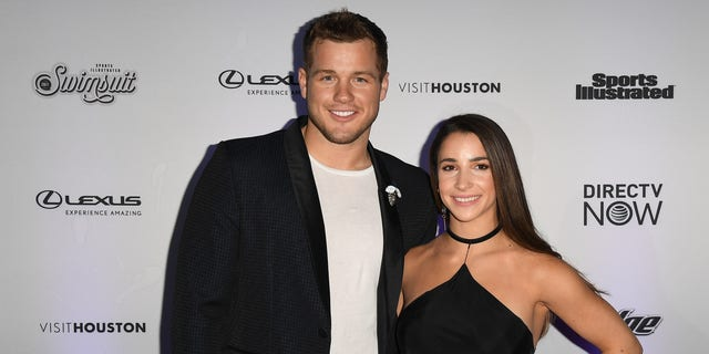 "Colton Underwood talked about Aly Raisman being his ""first love"" and ""worst heartbreak."""