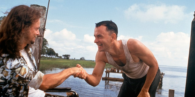 """A scene of 2004's """"Forrest Gump,"""" directed by Robert Zemeckis."""