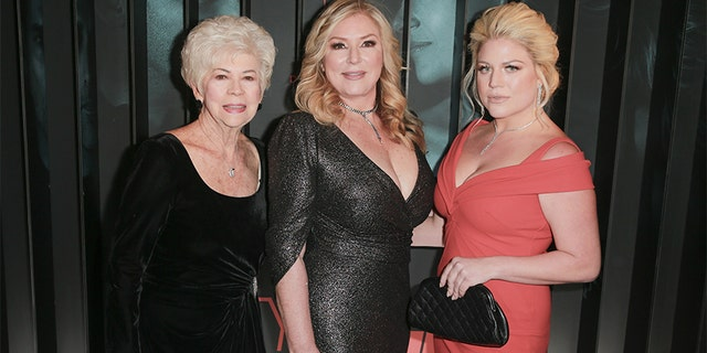 "(L-R) Arlane Hart, Debra Newell and Terra Newell attend the after-party for Bravo's anthology series ""Dirty John"" world premiere at NeueHouse Los Angeles on November 13, 2018, in Hollywood, California."