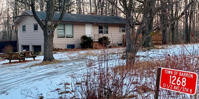 The home where Jayme Closs lived with her parents is seen on Friday, Jan. 11, 2018.
