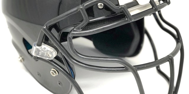 The football helmet is equipped with 360 degree cameras to increase the experience for the viewer at home, as well as the player's safety.