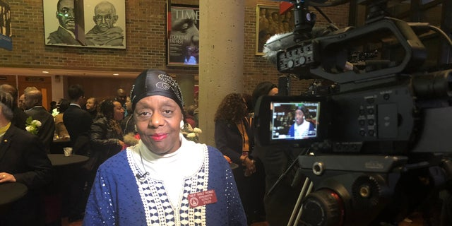 Georgia State Rep. Mable Thomas recalls standing in awe as a young girl, watching King march down her home street in Atlanta.