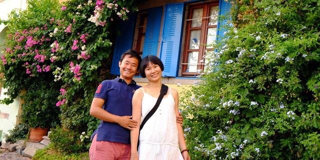 Xiyue Wang and Hua Qu in an undated photo