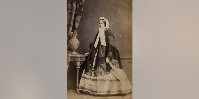 This picture from the family photo album shows Georgina Prettyman, nee Knight, Jane Austen's great niece.