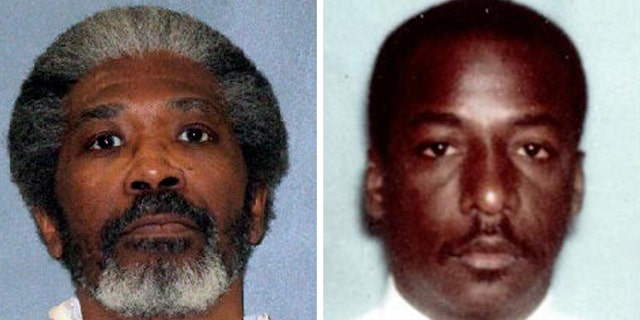 Robert Jennings, 61, left, was executed Wednesday, Jan. 30, 2019, for killing 24-year-old Houston police officer Elston Howard more than three decades ago.