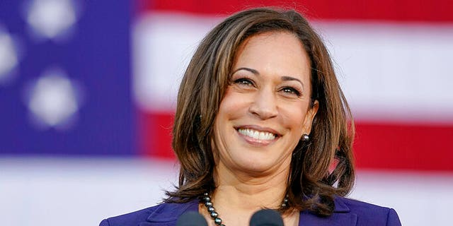 Democratic Sen. Kamala Harris, of California, smiles as she formally launches her presidential campaign at a rally in her hometown of Oakland, Calif., Sunday, Jan. 27, 2019. (AP Photo/Tony Avelar)