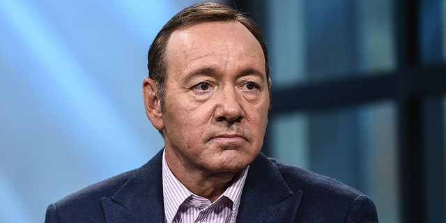 Kevin Spacey is seen in New York City, May 24, 2017.