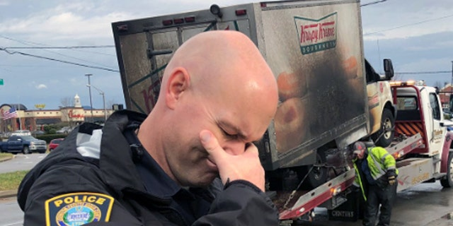 Lexington Police officers in Kentucky went viral for their response to a Krispy Kreme Doughnuts truck fire destroying the goods inside.