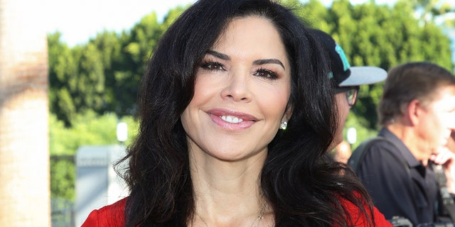"Lauren Sanchez attends the 25th anniversary celebration of ""Extra"" at Universal Studios Hollywood on September 10, 2018 in California. (Photo by Paul Archuleta/Getty Images)"