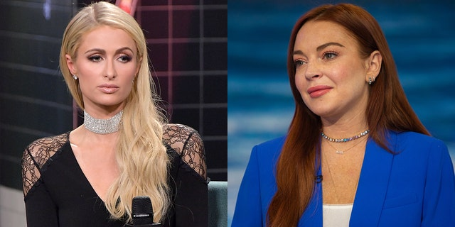 Paris Hilton and Lindsay Lohan allegedly began their feud over a guy.
