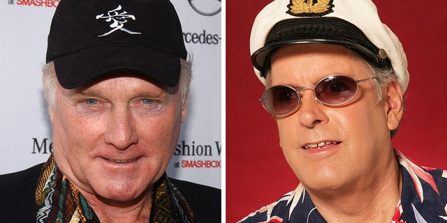 """""""Whether in the studio, on stage or just hanging out, he was loved by all of us who had the pleasure of knowing him,"""" the Beach Boys lead singerMike Love, left, said in a statement about the late """"Captain."""""""