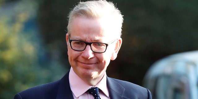 Britain's Secretary of State for Environment, Food and Rural Affairs Michael Gove, pictured here, fired back at Jeremy Corbyn of the Labour Party.