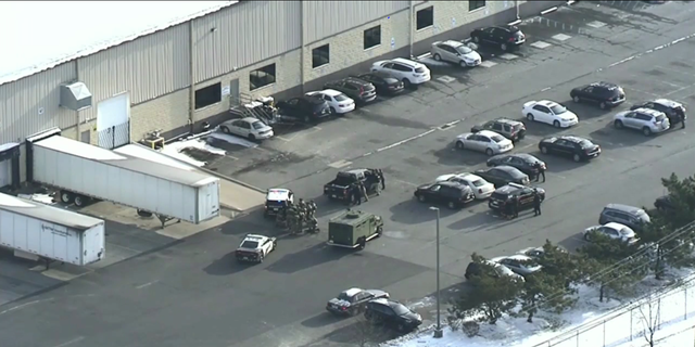 Major police presence at UPS facility in Gloucester County