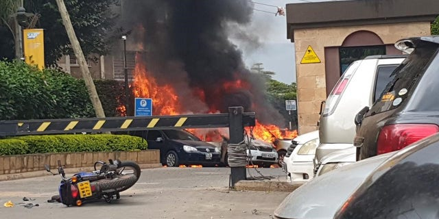 Al-Shabab claimed responsibility on Monday for the attack at an upscale hotel complex in Kenya's capital Nairobi.
