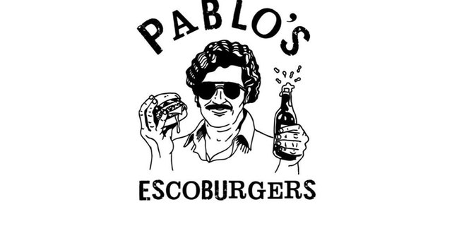 Pablo Escoburgers is named after infamous Columbian drug lord Pablo Escobar.