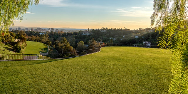 The massive acreage in Southern California comes with the necessary permits to build a 60,000 square-foot home on each of the three zoned areas.