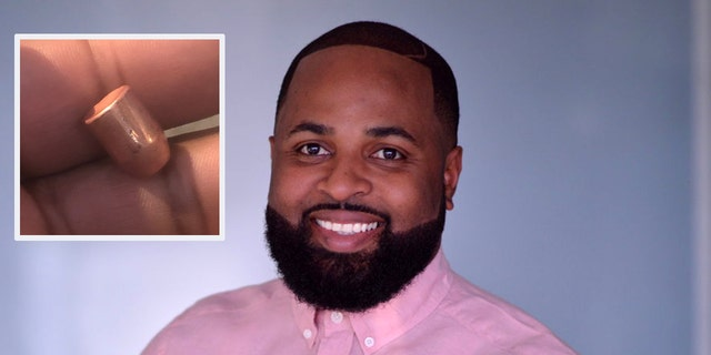 Pastor Evan D. Risher was preaching at Ramp Church in Fort Worth, Texas New Year's Eve when a bullet nearly hit his head. (Evan D. Risher)