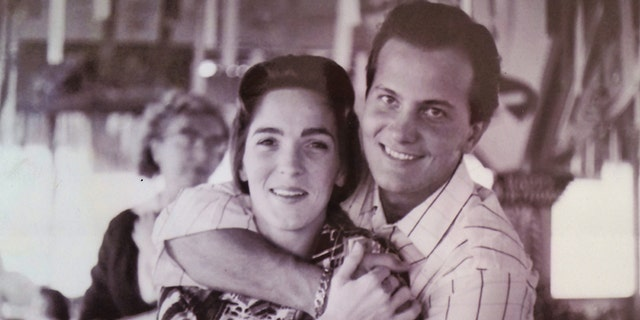 The Boones are seen in their early years together. (Photo courtesy of Milt Suchin, personal manager for Pat Boone.)