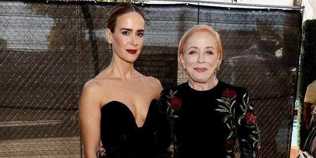 Sarah Paulson and Holland Taylor. (Photo by Todd Williamson/NBC/NBCU Photo Bank via Getty Images)