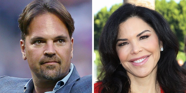 Jeff Bezos' girlfriend Lauren Sanchez, right, reportedly tried to date New York Mets legend Mike Piazza when he played for the Los Angeles Dodgers.<br>