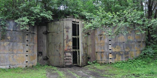 The Soviet nuclear bunker at Podborsko.