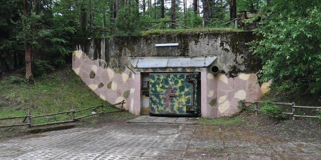 Exterior of a 'Monolit' bunker at Podborsko. (Grzegorz Kiarszys/Antiquity)