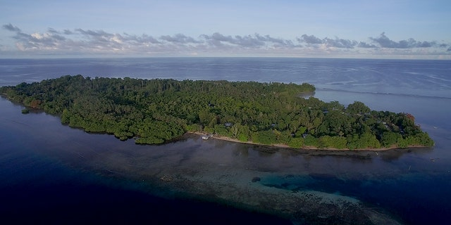 Aerial shot of Buka Island. (Stephani Gordon. Open Boat Films)