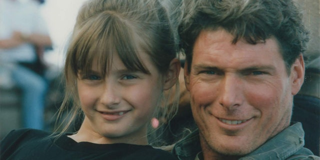 Alexandra and Christopher Reeve. — Courtesy of Alexandra Reeve Givens