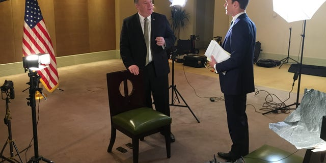 Secretary of State Mike Pompeo sat down with Fox News' Rich Edson for an exclusive interview in Cairo.