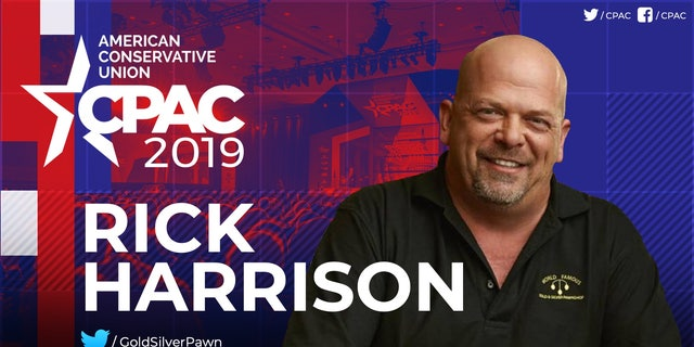 A promo for Harrison's speech being circulated by the American Conservative Union, the sponsor of CPAC. (Provided by the ACU)