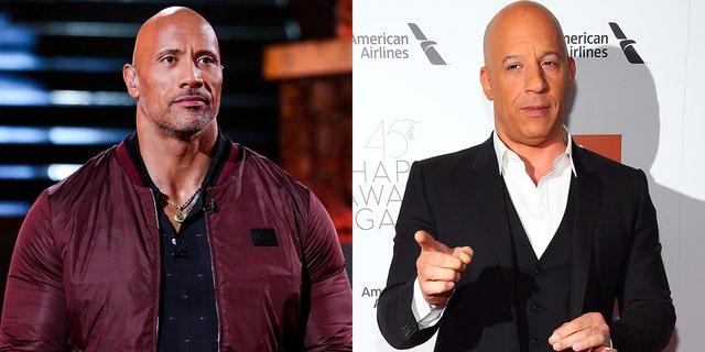 """The Rock feuded with Vin Diesel over different """"philosophies"""" on the set of the fifth installment of the """"Fast & Furious"""" franchise."""