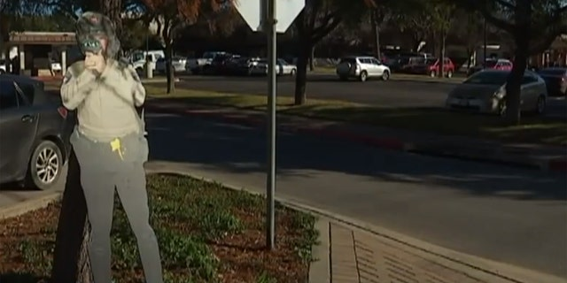 Texas police use cardboard cutouts in attempt to crack down