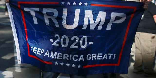 A Vermont man's Trump 2020 flag was burned and left on his front porch. The Trump administration has replaced it, and he plans to raise it with a bit of fanfare
