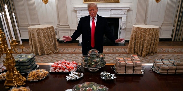 President Trump hosted the Clemson Tigers at the White House on Monday, Jan. 14, 2019.