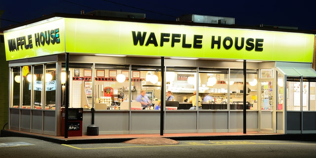 A Waffle House grill is seen in Athens, Ga., in 2011.