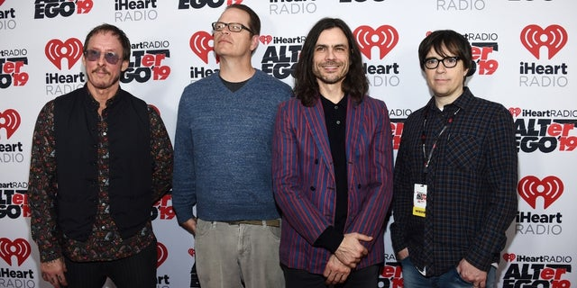 """Weezer dropped their latest album """"The Teal Album"""" this week."""