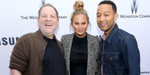 John Legend defends himself over resurfaced Harvey Weinstein photo after denouncing R. Kelly