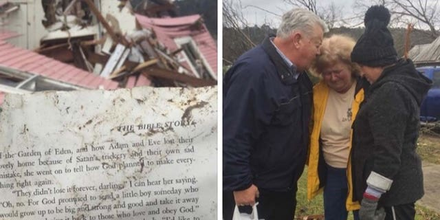 Sharon Watson was comforted by her community and her newfound faith after surviving a tornado in Wetumpka, Alabama