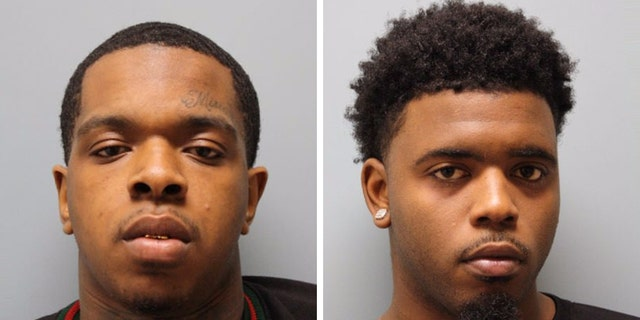 Larry Woodruffe, left, and Eric Black Jr., right, have both been charged with capital murder in the drive-by shooting death of 7-year-old Jazmine Barnes.<br><br>