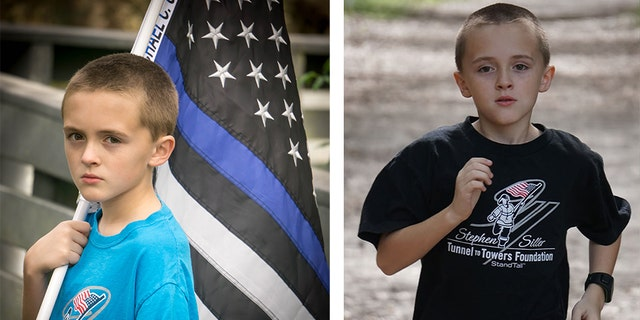 Zechariah has already run several miles this year in honor of deceased officers, according to his Facebook page, Running for Heroes.