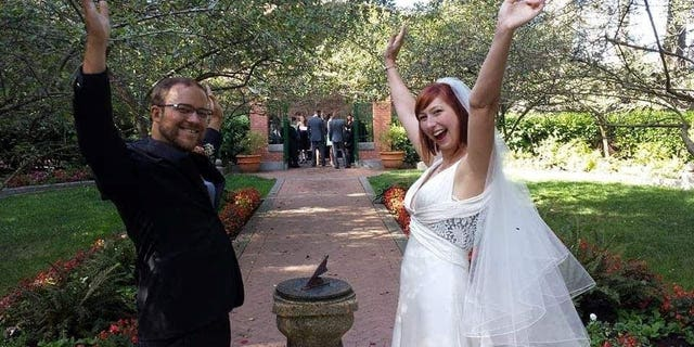Zeke and Avary tied the knot in 2014, they asked David to play a role in the wedding.