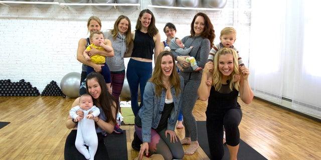 (Fit Pregnancy Club, New York City. Photo credit: Katherine Kirchner)