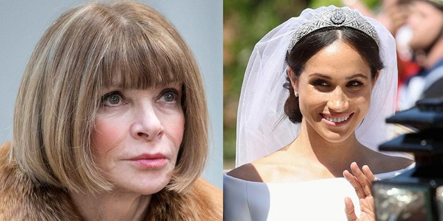 """""""I think she's amazing,"""" Wintour gushed of Duchess Meghan in a new interview."""